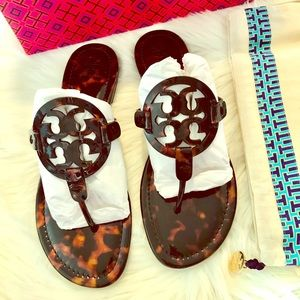 Tory Burch Miller Sandals Size 10